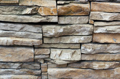 Rectangle stone wall Royalty Free Stock Photo