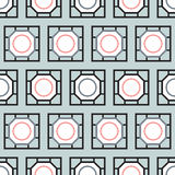 Rectangle tiles seamless pattern Stock Photos