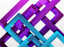Rectangle tube elements, vector background. Rectangle tube elements, vector 3d background Stock Photography