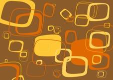 Rectangle vector background. Yellow, orange rectangle vector background Stock Photo