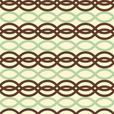 Rectangle waves seamless pattern Stock Image