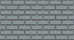 Rectangles argentés de mur de briques avec le bord chanfreiné Fond vide Le vintage monopolisent la parole Intérieur de conception photos stock