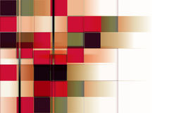 Rectangles background. Modern colorful texture background with many rectangles Stock Photography