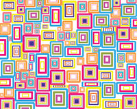 Rectangles background Stock Images