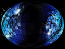 Rectangles background globe Stock Images
