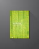 Rectangles de vert de couverture de livre Photographie stock libre de droits