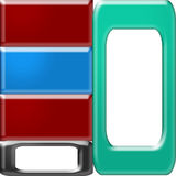 Rectangles and frames. Royalty Free Stock Image