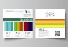 Rectangles lumineux de couleur, conception colorée, formes rectangulaires géométriques, beau fond abstrait Business Photo libre de droits