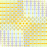 Rectangles pattern yellow blue purple gray white shifted Stock Image
