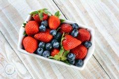 Rectanglular Berry Bowl photographie stock