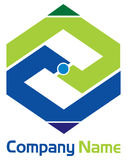Rectangul logo Royalty Free Stock Image