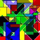 Rectangular abstract pattern Stock Photos