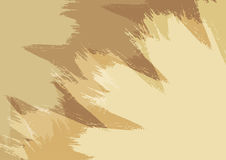 Rectangular background with brush strokes. Abstract backdrop brown and beige. Vector illustration stock illustration