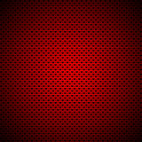 Rectangular background with Hearts pattern Stock Image