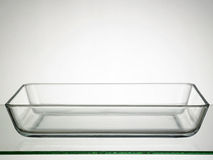 Rectangular bowl Stock Photo