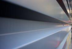 Rectangular corrugation Horizontal Royalty Free Stock Photography