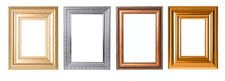 Rectangular Decorative Frames For Your Project Stock Photography
