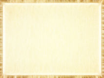 Rectangular empty old paper photo frame.Background. Rectangular empty old paper photo frame with brown border suitable as background Stock Images