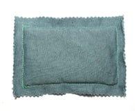 Rectangular fabric bag Royalty Free Stock Images