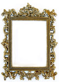 Rectangular frame. With intricate work against white background stock images