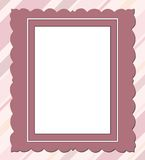 Rectangular frame Royalty Free Stock Photography