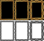 Rectangular frames Stock Photography