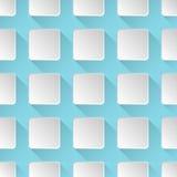 Rectangular geometric seamless pattern Stock Photos