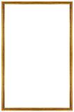 Rectangular Gilded Frame Royalty Free Stock Image