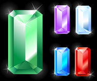 Free Rectangular Jewels Stock Photography - 7282022