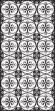 Rectangular lattice pattern background in oriental style. Arabesque. Royalty Free Stock Image