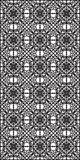 Rectangular lattice pattern background in oriental style. Arabesque. Stock Image