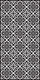 Rectangular lattice pattern background in oriental style. Arabesque. Royalty Free Stock Photo