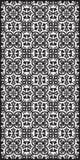 Rectangular lattice pattern background in oriental style. Arabesque. Stock Photography