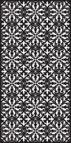 Rectangular lattice pattern background in oriental style. Arabesque. Stock Images
