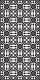 Rectangular lattice pattern background in oriental style. Arabesque. Stock Photos