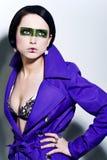 Rectangular makeup Royalty Free Stock Photography