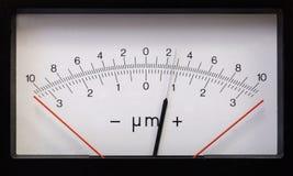 Rectangular measurement device-2 retro style Stock Images