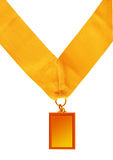 Rectangular Medal Royalty Free Stock Photography