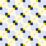 Rectangular pattern. Modern abstract seamless pattern of coloured rectangles Royalty Free Stock Images
