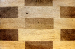Rectangular pattern wood Royalty Free Stock Images