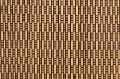 Rectangular patterns on wooden background Stock Photography