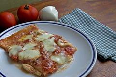 Rectangular pizza Stock Photo