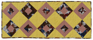 Rectangular quilt Royalty Free Stock Photos