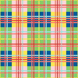 Rectangular seamless pattern in bright colors Royalty Free Stock Images