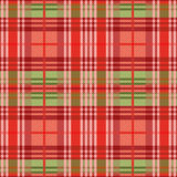 Rectangular seamless pattern mainly in red hues Stock Photo