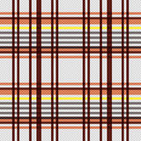 Rectangular seamless pattern in warm colors Stock Photo