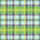 Rectangular seamless tartan texture Royalty Free Stock Photography