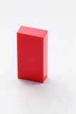 Rectangular. Shape of the building block Stock Images