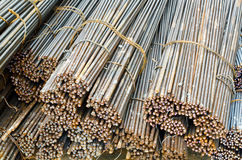 Rectangular steel  STEEL ROD Stock Photography