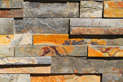 Rectangular Stone Wall Royalty Free Stock Photos